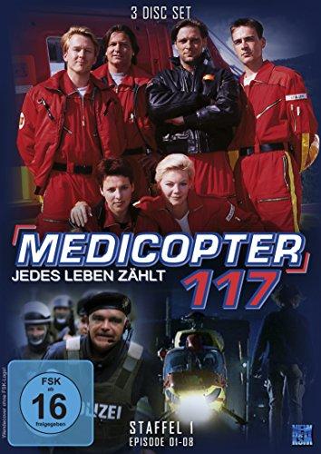 Medicopter 117 - Jedes Leben zählt (Staffel 1: Folge 01-08 im 3 Disc-Set)