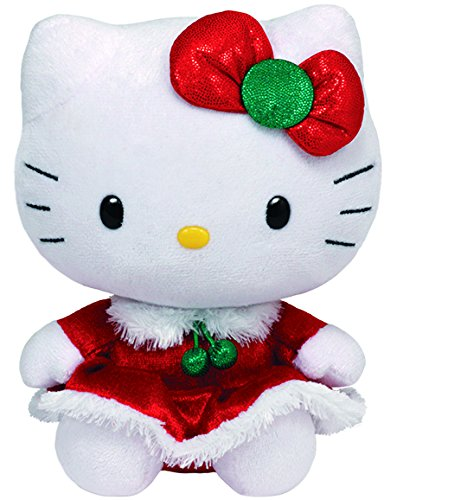 Hello Kitty - Christmas Dress Plush - TY Beanie - 15cm 6""