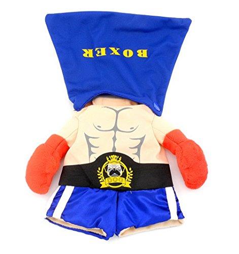 ostüm Boxer Kleidung Sport Mantel Halloween, für Welpen Haustier Katze ()
