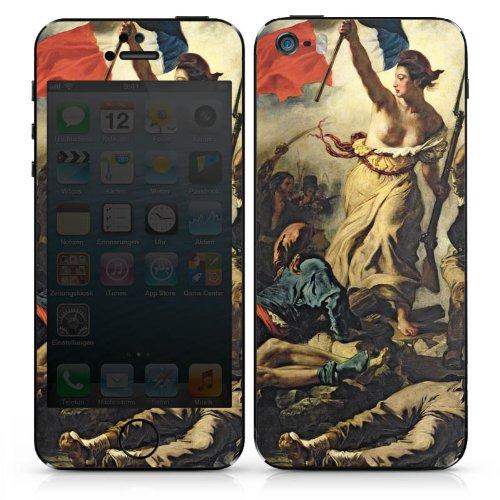 Apple iPhone SE Case Skin Sticker aus Vinyl-Folie Aufkleber Delacroix Frankfreich Revolution DesignSkins® glänzend