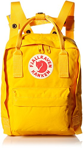 Fjallraven Backpack - Mochila de senderismo, color Amarillo (Warm Yellow/Warm Yellow), talla Talla única