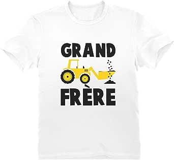 Green Turtle T-Shirts Grand frère 2021 Annonce de Grossesse Cadeau Naissance T-Shirt Garçon