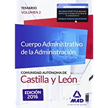 Cuerpo Administrativo de la Administración de la Comunidad Autónoma de Castilla y León.: 2