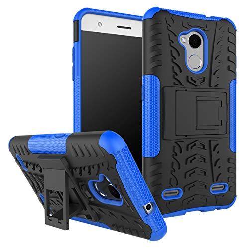 XINFENGDI ZTE V6 Plus/V7 Lite/Blade A2 Hülle,Handytasche Kratzfest aus TPU/PC Material Reifenprofil Handyhülle Kompatibel mit für ZTE V6 Plus/V7 Lite/Blade A2 - Blau
