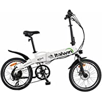 Bicicleta Eléctrica Plegable 6 velocidades Batt Samsung