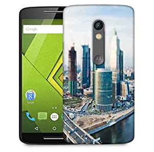 Snoogg Japan City Designer Protective Phone Back Case Cover for Motorola Moto X Play
