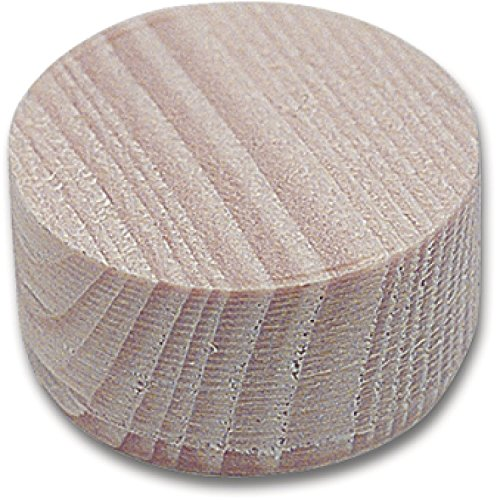 SECOTEC Querholzscheiben Fichte Höhe 10 mm 35 mm, Querholzplättchen, Konusplättchen 15 Stück