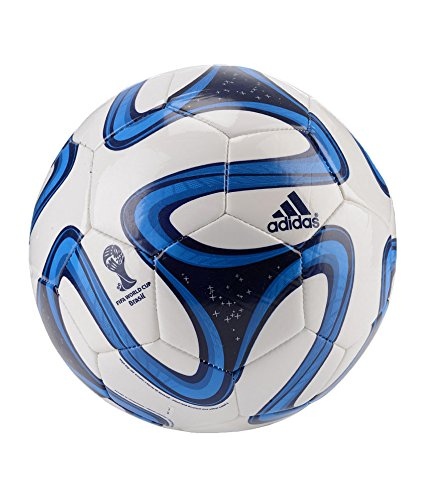 Giftadia Adidas Official Brazuca Replica PU Football Size 5 Blue  available at amazon for Rs.499