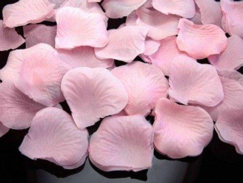 s Stoff rosa Hochzeit Streublumen Blumenkinder Rosenblüten Tischdeko ()