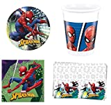 Spiderman Party Pack per 16 Ospiti