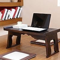 Comparador de precios Mesa de madera Escritorio de la computadora Cama Plegable Lazy Notebook portátil Pequeño escritorio Portable Small Table ( Tamaño : 80*44*36cm ) - precios baratos