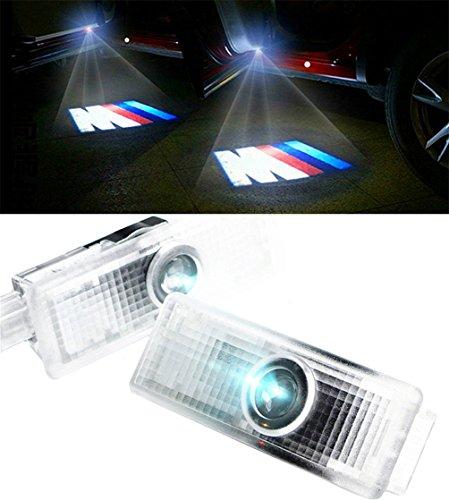 Preisvergleich Produktbild Einstiegsbeleuchtung Laser Projektor Logo Licht für BMW M3 (2 Stk)