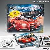 Create your Monster Cars Malbuch mit vielen Stickern spielen malen basteln Depesche Biz NEU
