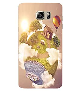 ColourCraft Creative Image Design Back Case Cover for SAMSUNG GALAXY NOTE 6