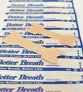 Lot de 50 better breath nasenpflaster mieux respirer corticoïdes bandes adhésives taille l couleur réduit schnarchgeräusche utilisation facile