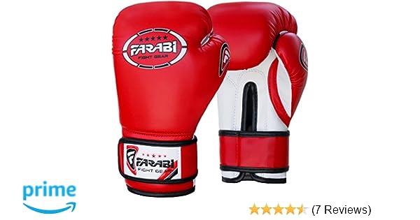 by Farabi Sports Free Shipping training bag mitt gloves Junior kids 6-oz Boxing Gloves Sparring
