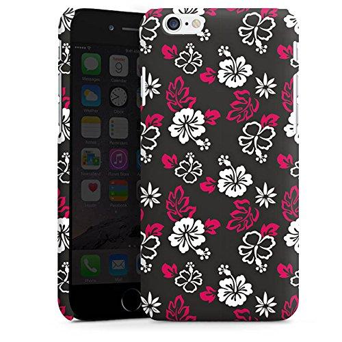Apple iPhone X Silikon Hülle Case Schutzhülle Blumen Muster Flower Premium Case matt