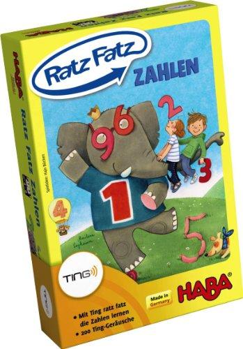 Produktbild bei Amazon - Haba 4992 - Ting Ratz Fatz Zahlen