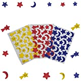 #9: Asian Hobby Crafts EVA Foam Stickers (Pack of 3)