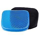 CBEX Honeycomb Gel Flex Cushion Seat Sitter Flex Pillow Back Support Sit Rubber