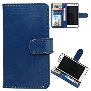 DooDa PU Leather Wallet Flip Case Cover With Card & ID Slots HTC Desire 500