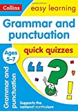Grammar & Punctuation Quick Quizzes Ages 5-7 (Collins Easy Learning KS1)