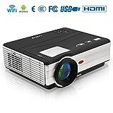 EUG X89+(A) LCD LED Video-Projektor Heimkino Beamer Cinema Multimedia Player HDMI (3D 1080p 3.000 Lumen) Android4.2 Wifi Filmabend