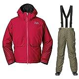 DAIWA GT Goretex Winter Suit Red Gr. XXXL Thermoanzug Winteranzug