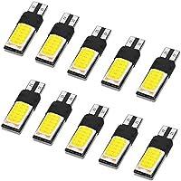 XCSOURCE 10pcs T10 / 194 / W5W COB 24SMD Ampoules LED DC12V remplacement 6000K Blanc Pur pour Lumières de Lecture Automobiles, Lampes Éclairage Intérieur MA739