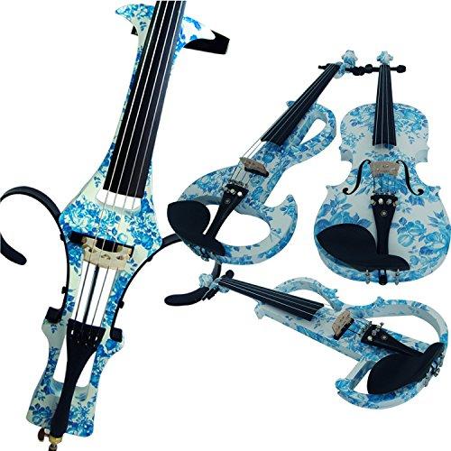 aliyes Holz Elektrische Violine Full Size 4/4fortgeschrittenen