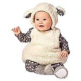 Little Lamp Baby Lamm Fasching Halloween Karneval Outfit Kostüm (80/86)