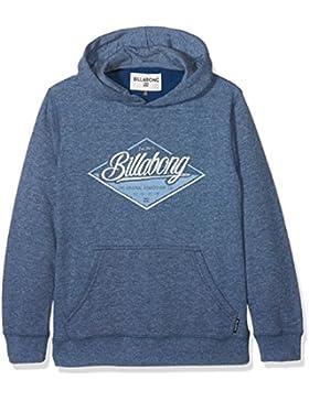 Billabong tstreet Ho Fleece para niño, Niño, TSTREET HO, Azul Oscuro, L