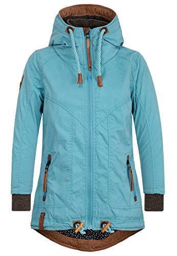 Naketano Female Jacket Watch This Thing Bounce Turquoise, L