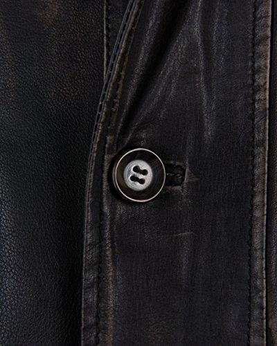 JCC Lederjacke 1416 Black