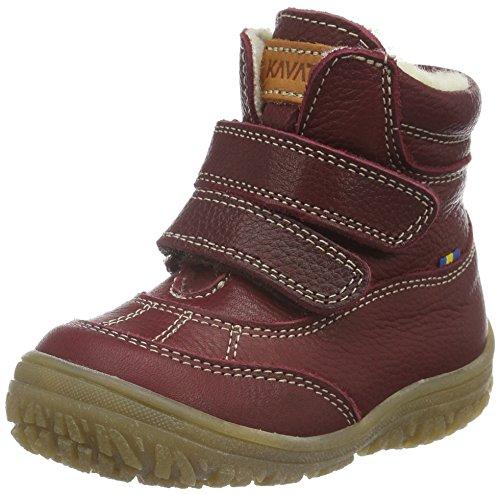 KavatOden EP - Stivali a metà gamba con imbottitura pesante  Unisex - Bambini , Rosso (Rot (Bordeaux 997)), 34 EU