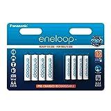 Panasonic eneloop 8er Kombi-Pack Ready-to-Use NI-MH Akku BK-KJMCCE44E (4x AAA Micro 750 mAh + 4x AA Mignon 1.900 mAh) -