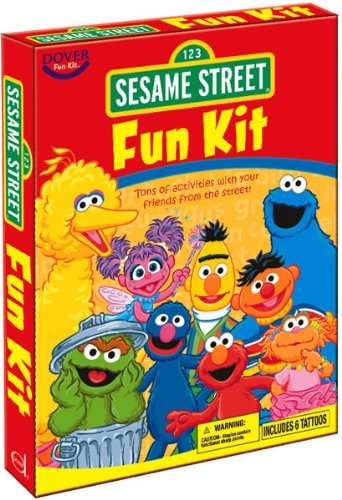 Sesame Street [With Reusable Stickers and Poster and Panoramic Scenes and Crayons and Tattoos and Coloring, Activ (Dover Fun Kit) by Sesame Workshop (2010-11-18)