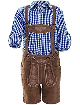 Michaelax-Fashion-Trade Krüger - Kinder Trachten Lederhose, Max Junior (Artikelnummer: 930-12)