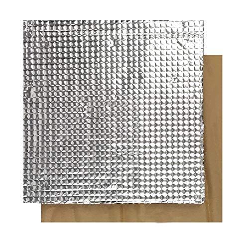 SOOWAY 3D Drucker plattform Heißbett Isolierung Baumwolle Leichte Schaumstofffolie selbstklebend Isolierung Matte Aufkleber Heißbett Thermopad kompatibel mit CR-10S Ender 3 Anet A8 (200 x 200 mm) -