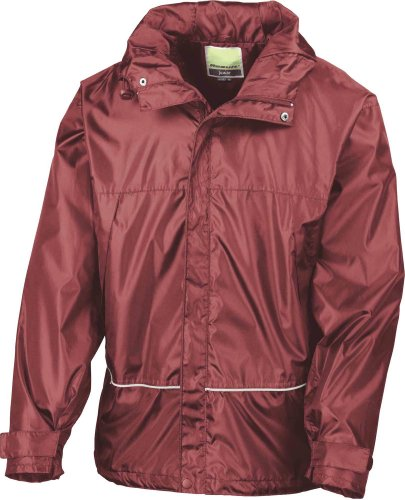 Result Youth Waterproof 2000 Midweight Jacket Red
