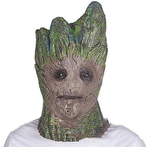Baum Kopf Set Halloween Maske Film Requisiten Helm -