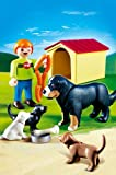 PLAYMOBIL® 4498 - Berner Sennenhund mit Welpen