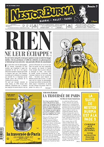 Nestor Burma - Corrida aux Champs-Elysees - Journal N 3