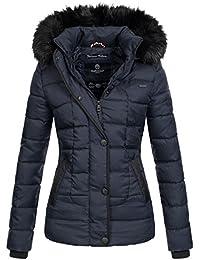 Marikoo warme Damen Winter Jacke Steppjacke Winterjacke Gesteppt Parka B391 c2038b41e78a