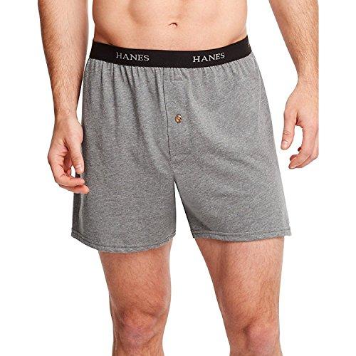 Herren ComfortSoft Knit Boxers Comfort Bund 5-Pack_Assorted_L - Comfortsoft-bund Knit Boxer