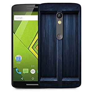 Snoogg Black Door Designer Protective Phone Back Case Cover For Motorola Moto G3