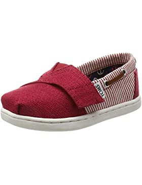 Toms Boy's Bimini Canvas Ankle-High Canvas Flat Shoe