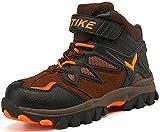 Kinder Baumwollschuhe Kletterschuhe Dschungel Jungen Gehen Trekking Leicht Draussen Sportlich Schuhe Wanderschuhe, 1-orange, 39 EU