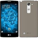 Funda de silicona para LG G4c - Slimcase gris - Cover PhoneNatic Cubierta + protector de pantalla