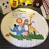 FLOWood Kinder Kinderteppich für niedliches Baby auch EIN Speichergerät des Spielzeugs 148cm (Captain America)